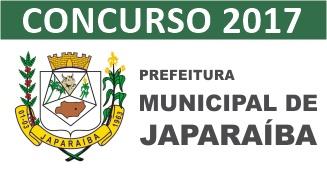 Concurso Prefeitura de Japaraíba 2017