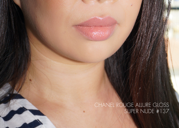 The Beauty Look Book - Chanel Rouge Allure Gloss Super Nude