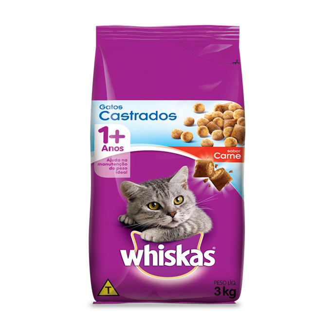 Whiskas  gatos castrados