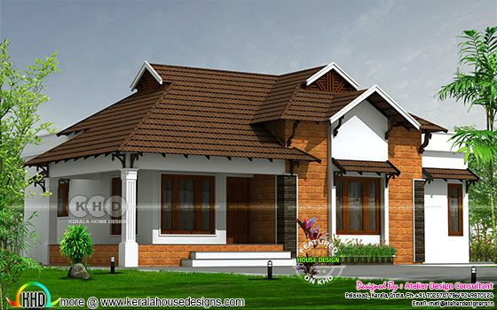 Traditional 1450 square feet 3 bedroom home