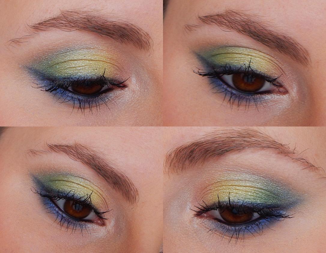 makijaż glam&shine mysecret cienie