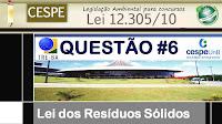Qeustão CESPE - Resíduos Sólidos