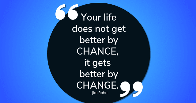 """Inspirational Quotes To Lift Your Spirit After A Harsh Day: KWOTES-4U: """"Your Life Does Not Get Better By Chance..."""""""