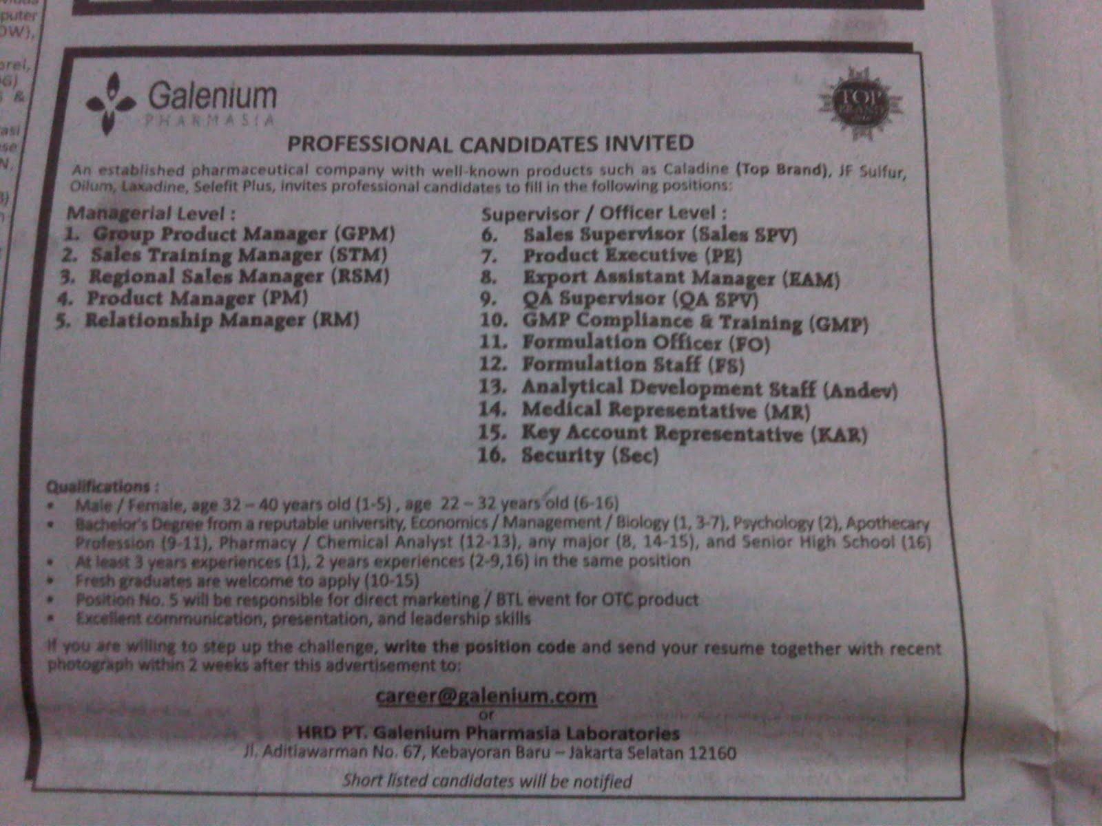 Lowker Blitar Find Job Vacancies In Indonesia Jobsdb Indonesia 2011 Di Gelenium Pharmasia Dari Iklan Lowongan Kerja Koran Kompas