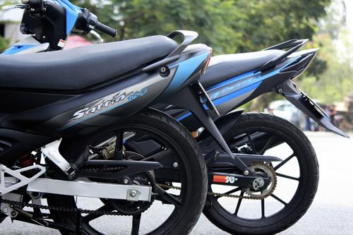 Suzuki Satria 120 (Su xì-po) xế nổ huyền thoại tại Việt Nam 2
