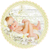 Cute Sleeping Babies for Cards, Toppers or Labels.