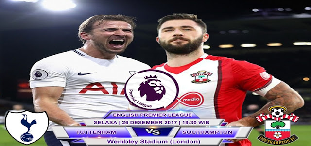 Prediksi Tottenham Hotspur vs Southampton 26 Desember 2017