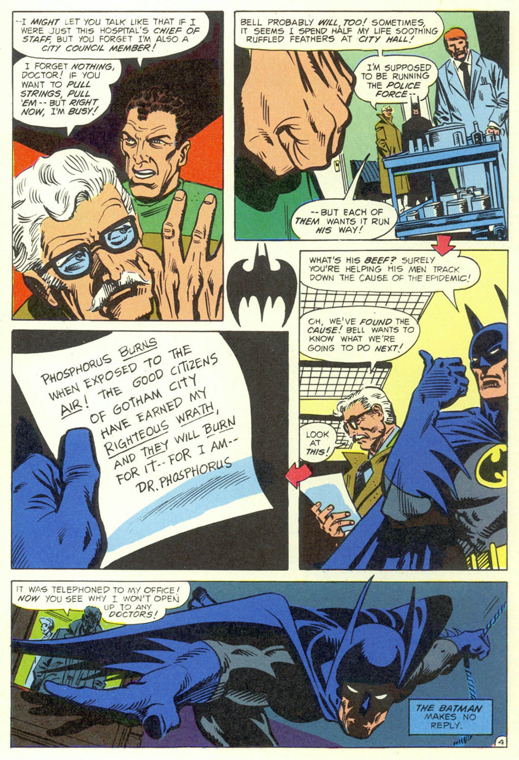 Read online Shadow of the Batman comic -  Issue #1 - 6