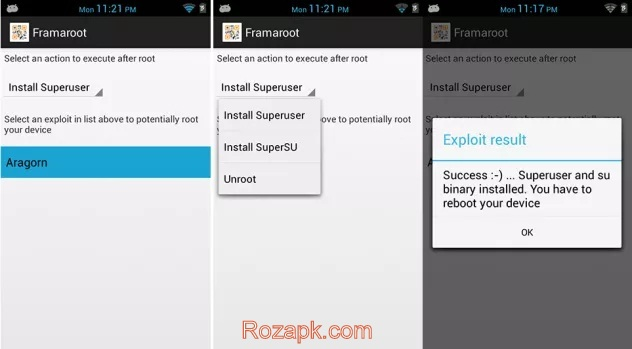 Framaroot Apk v1.4.1 Latest Version For Android