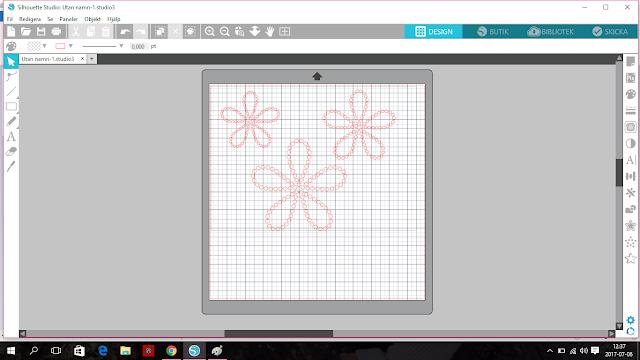designs rhinestone flower blomma