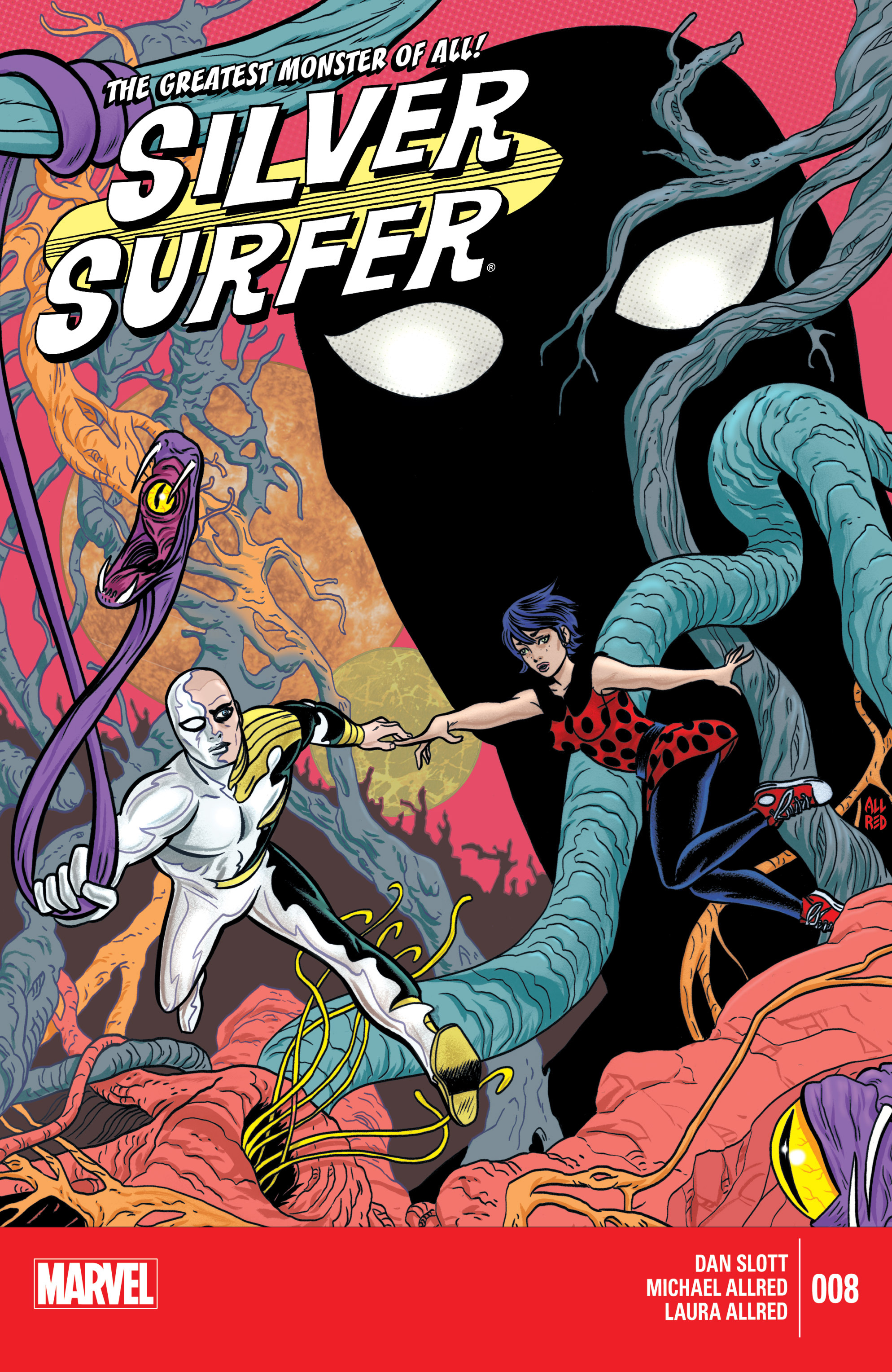 Read online Silver Surfer (2014) comic -  Issue #8 - 1