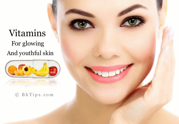 Best Vitamins For Healthy, Glowing And Youthful Skin