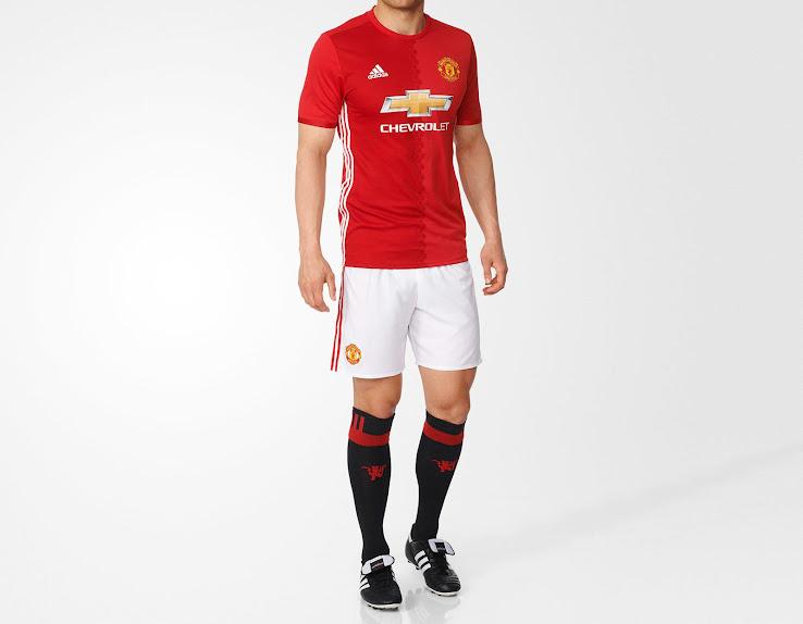 Manchester United 16 17 Heimtrikot veröffentlicht Nur Fussball