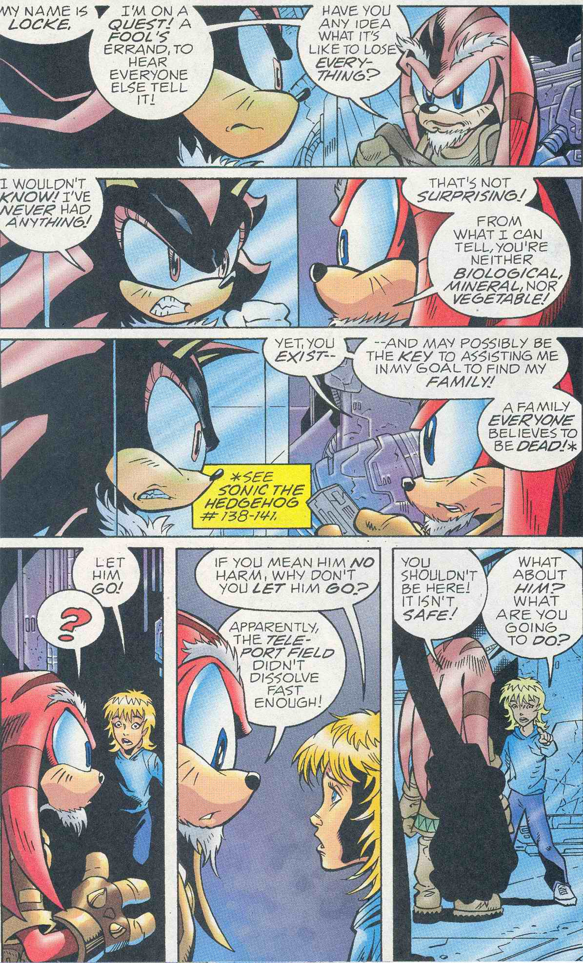 Read online Sonic The Hedgehog comic -  Issue #145 - 8