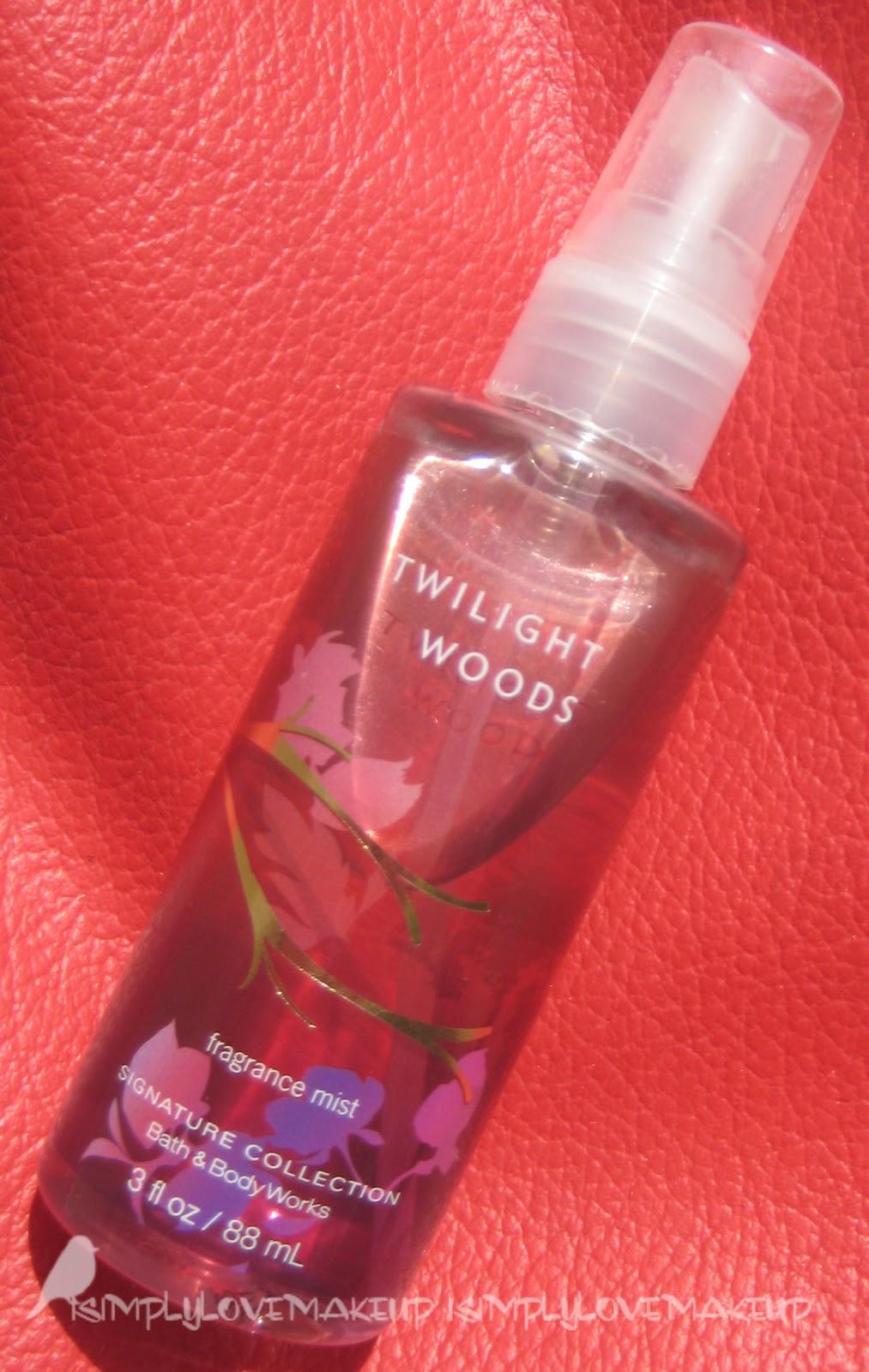 Review Bath Amp Body Works Twilight Woods Fragrance Mist