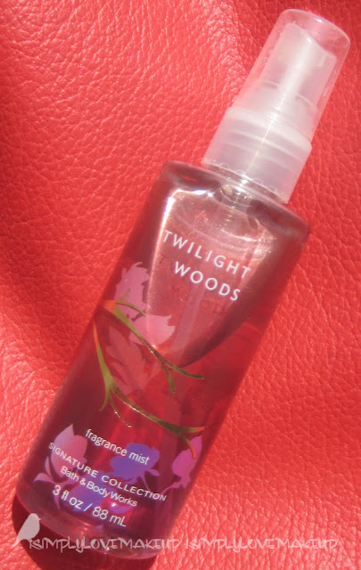 Review Bath Amp Body Works Twilight Woods Fragrance Mist