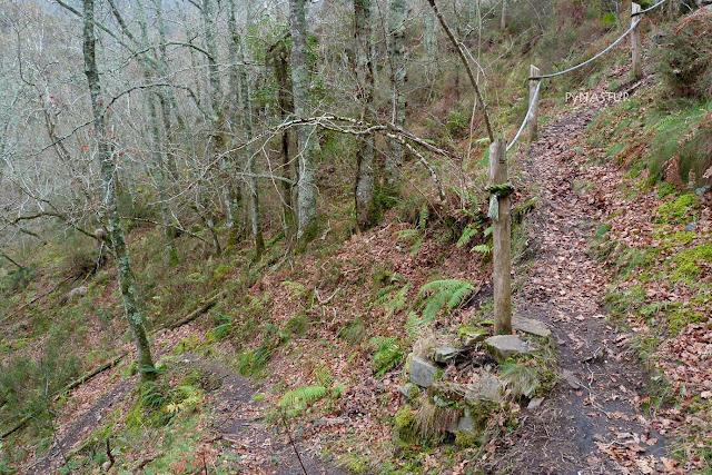 Camino Cascadas del Cioyo - Castropol - Asturias