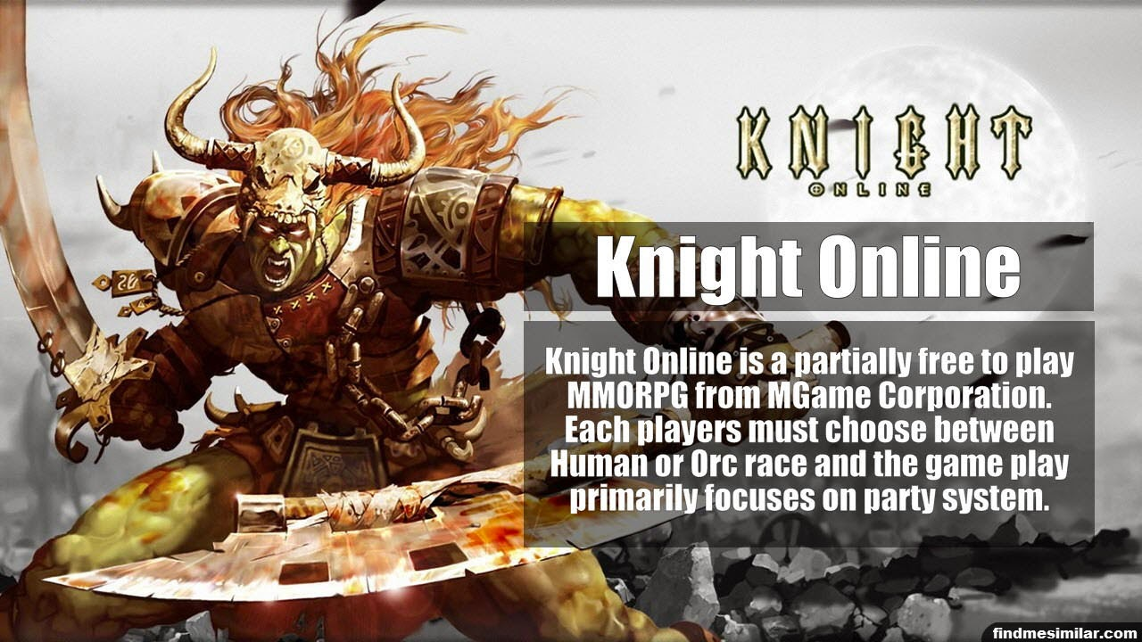 Knight Online a similar game like RuneScape
