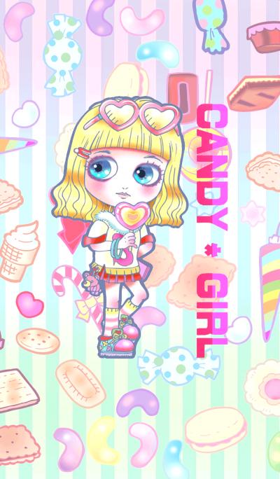 Cute candy girl