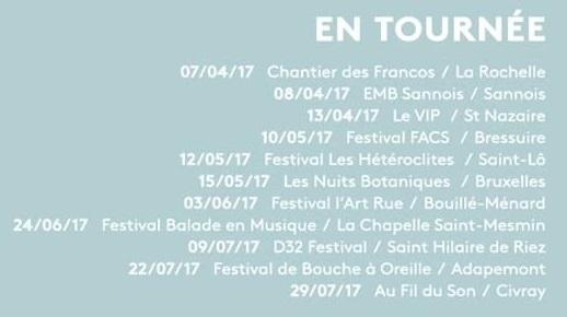 inuit groupe, dodo mafutsi, printemps de bourges, tournée INUIT, rock à Nantes, rock breton, badaboum, francofolies, la rochelle, electro pop, armorique