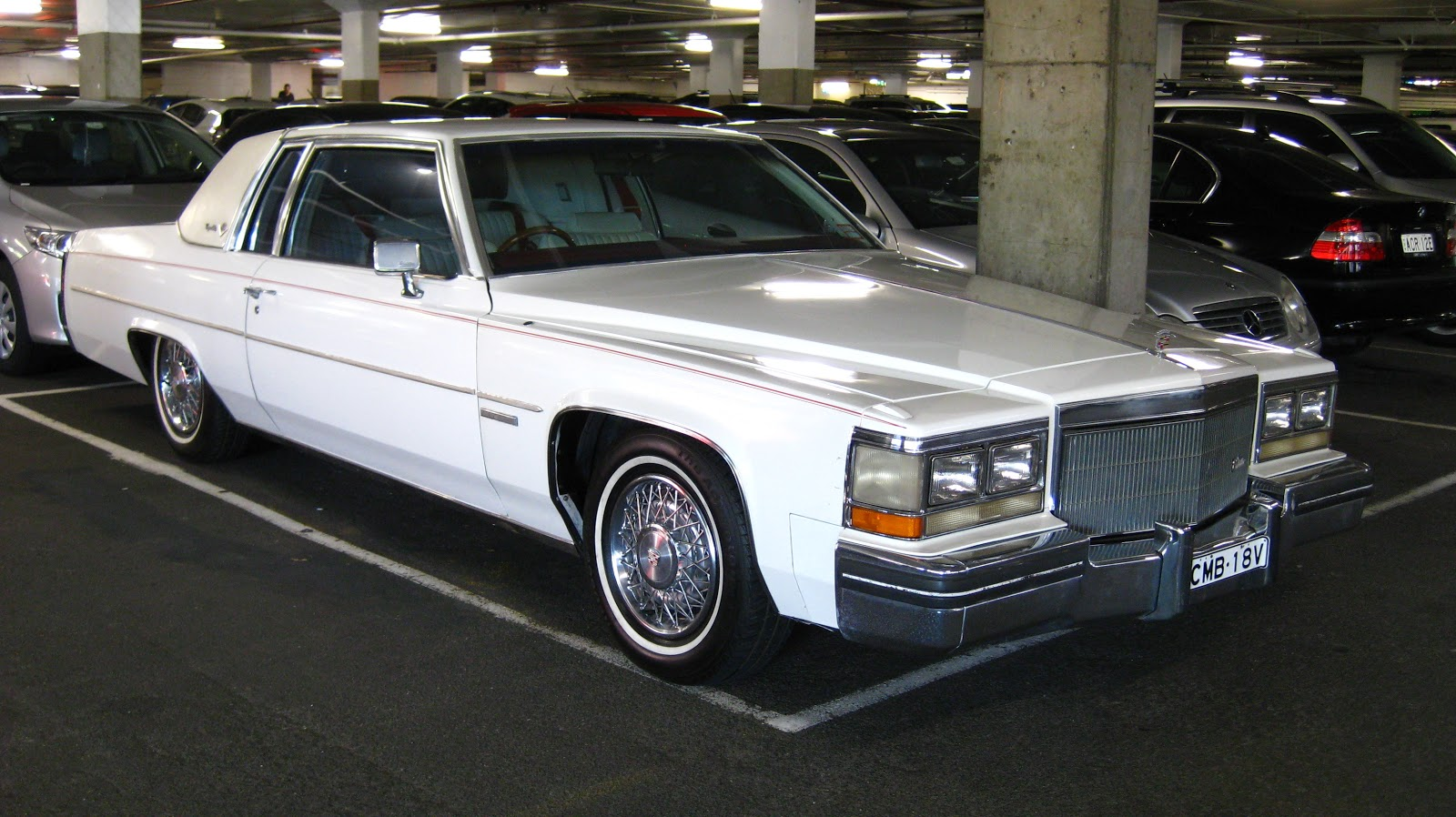 Aussie Old Parked Cars 1983 Cadillac Coupe Deville Ht 4100