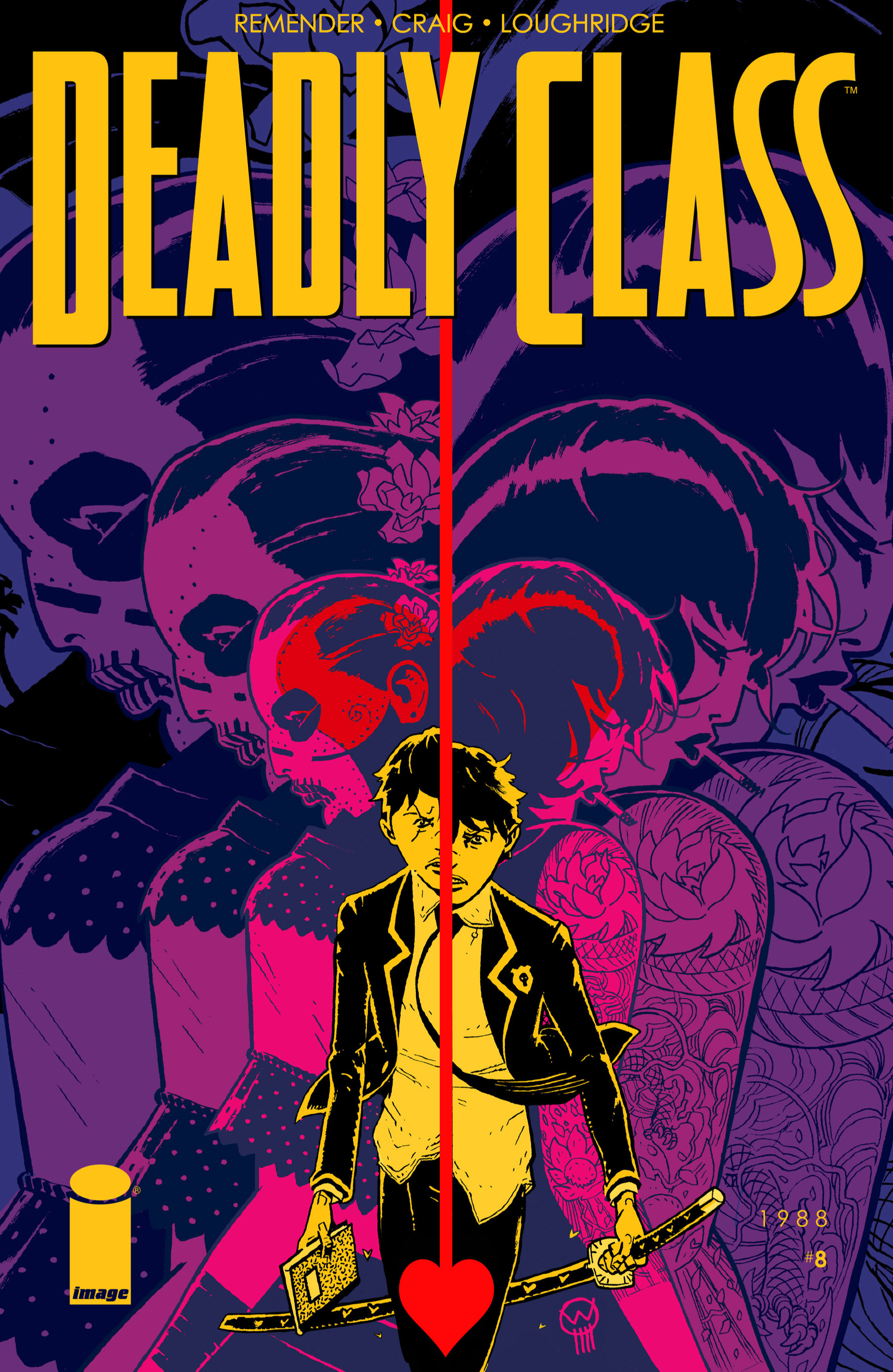 Read online Deadly Class comic -  Issue #8 - 1