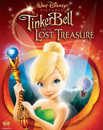 Poster Of Tinker Bell and the Lost Treasure 2009 In Hindi Bluray 720P Free Download