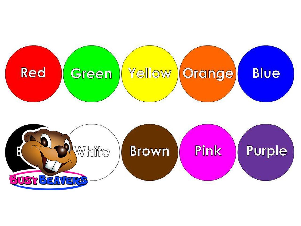 Recursos Digitales Educativos Aprender Los Colores