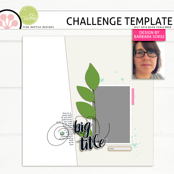 Pink Reptile Designs Challenge Template