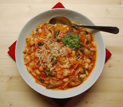 Minestrone aux blettes
