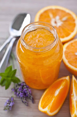 Recettes de Confiture d'oranges