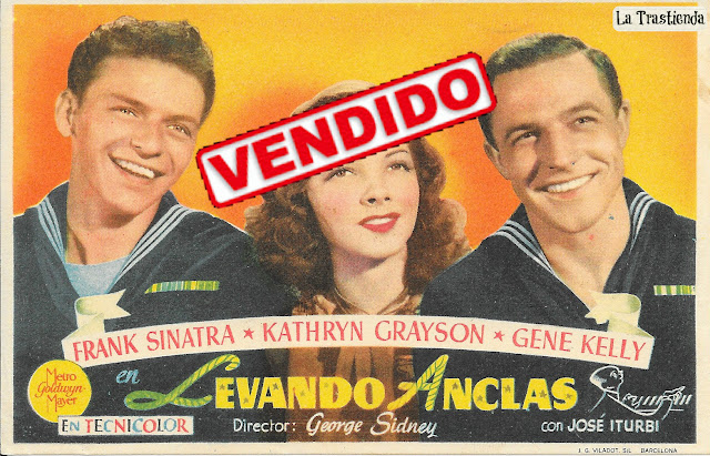 Programa de Cine - Levando Anclas - Frank Sinatra - Kathryn Grayson - Gene Kelly