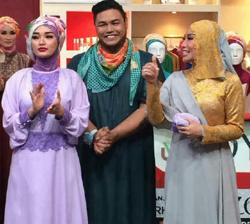 Aneka Model Gambar Fashion Tutorial Hijab Dan Busana Muslim Pesta