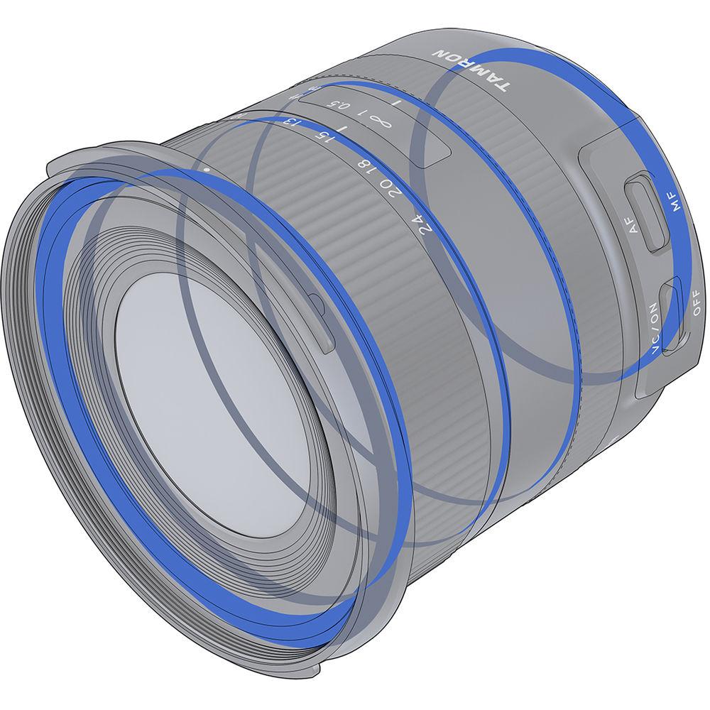 Tamron 10-24mm f/3.5-4.5 Di II VC HLD. Уплотнительные прокладки для защиты от попадания влаги и пыли