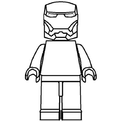 Gambar Mewarnai Lego - 13