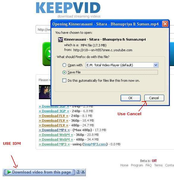 Real Decoder: Alternate Solution for IDM Error HTTP:/1 1 403