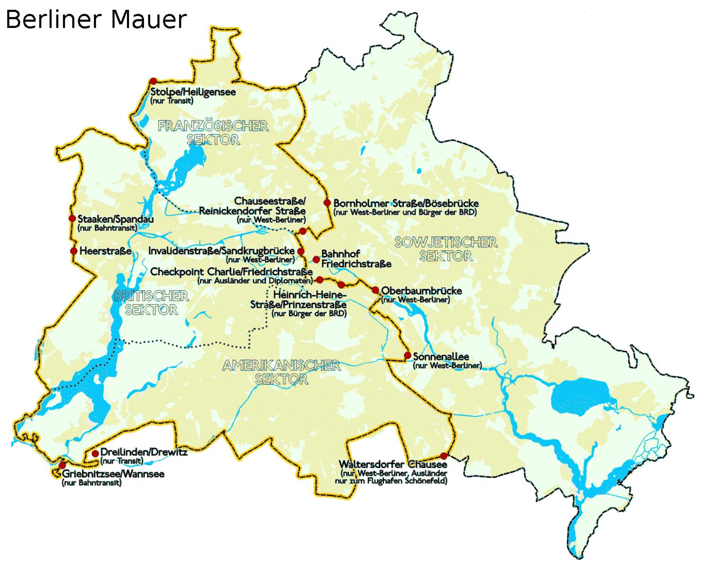 Amintiri Din Munti Berlinul De Est Berlinul De Vest Si Zidul La