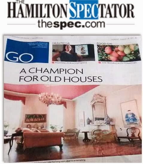 AS SEEN IN THE HAMILTON SPECTATOR