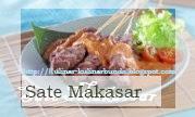 selain keragamannya dikenal cara  pengolahannya yang terbilang unik mulai dari diasap Resep Masakan Sate Makassar yang Nikmat dan Lezat