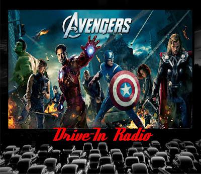 avengers drive in radio