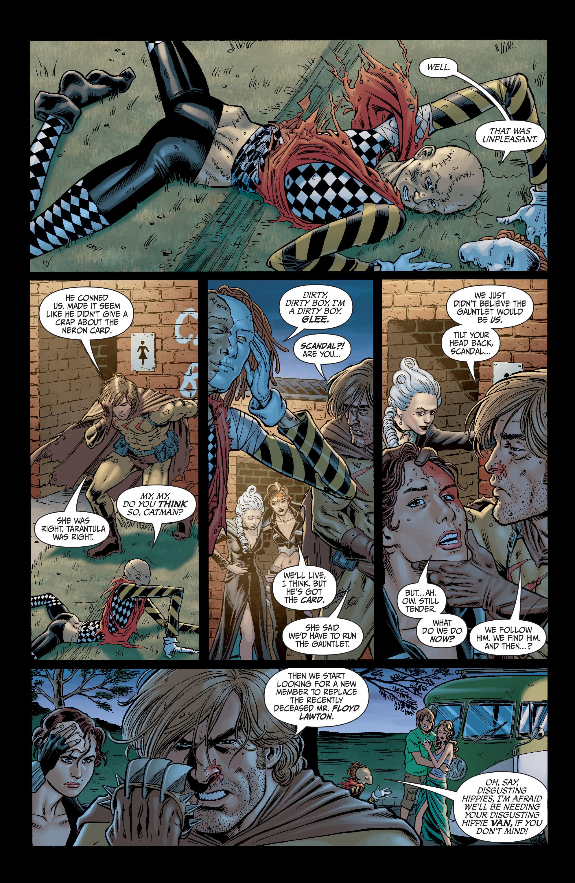 Read online Secret Six (2008) comic -  Issue #7 - 2