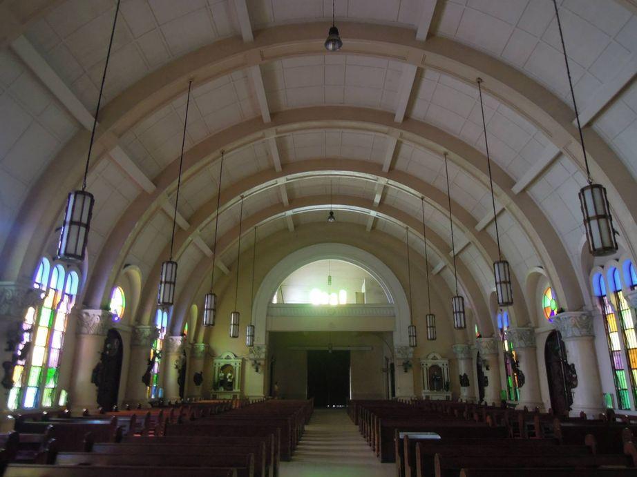 The interiors of the Sacred Heart Parish - Shrine