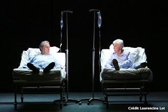 Théâtre : Moins 2 de Samuel Benchetrit - Avec Guy Bedos et Philippe Magnan - Théâtre Hébertot - Paris 17