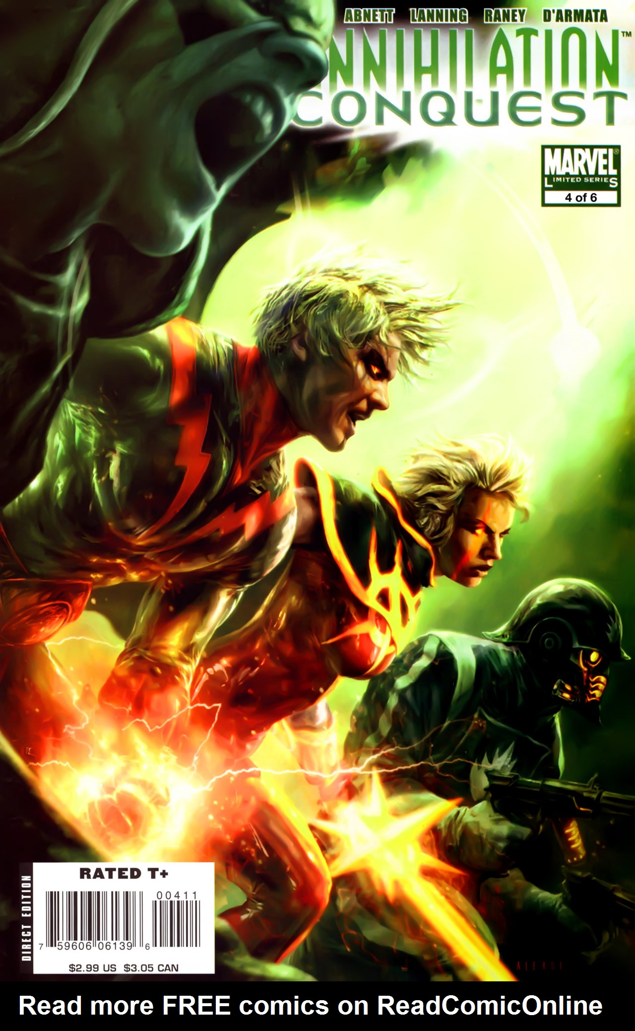Read online Annihilation: Conquest comic -  Issue #4 - 1