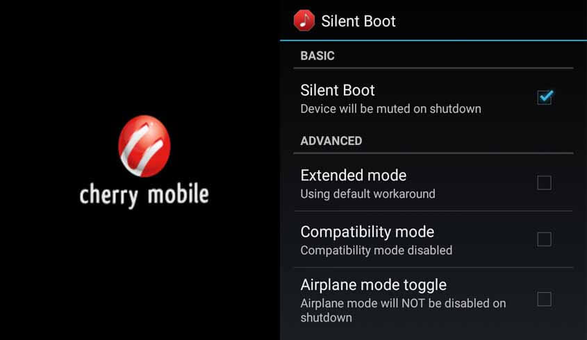 How to Turn Off Cherry Mobile Startup and Shutdown Tone – No Root