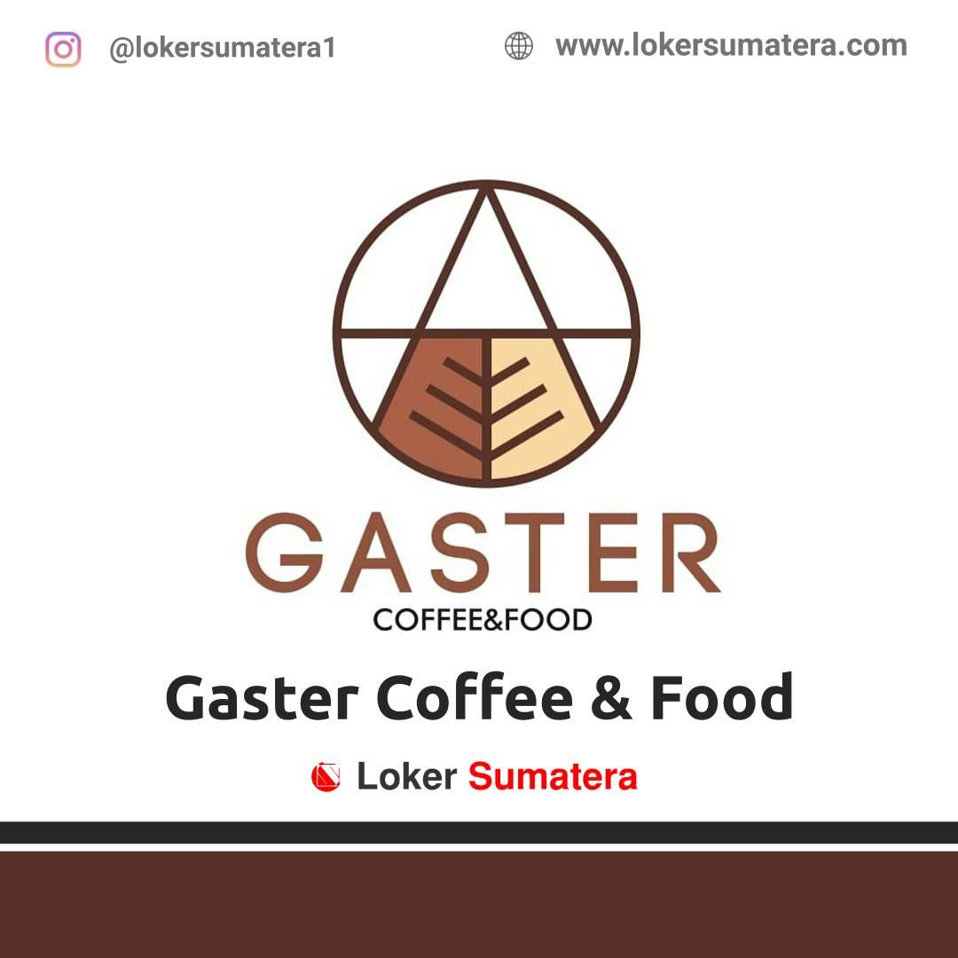 Lowongan Kerja Banda Aceh: Gaster Coffee & Food Agustus 2020