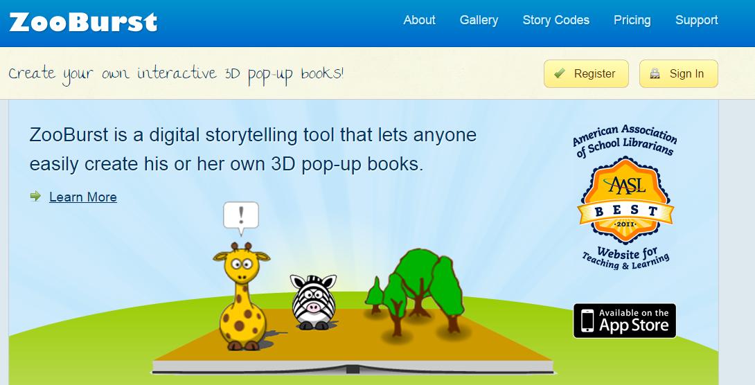 Berna's Blog: A Digital Storytelling App