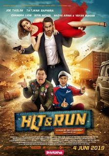Comedy Indonesia Terbaru Produksi Screenplay Films Review Hit & Run 2019 Bioskop