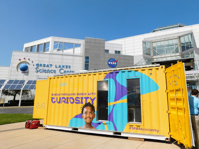 MilliporeSigma's Curiosity Cube Comes to Great Lakes Science Center #SPARKCuriosity