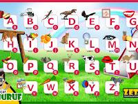 Download Gratis Alat Peraga Huruf Abjad.cdr  untuk Anak TK/PAUD